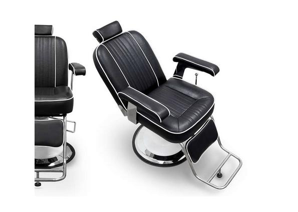 Black Cleveland Barber Chair 4