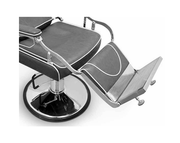 Grey Indiana Barber Chair 4