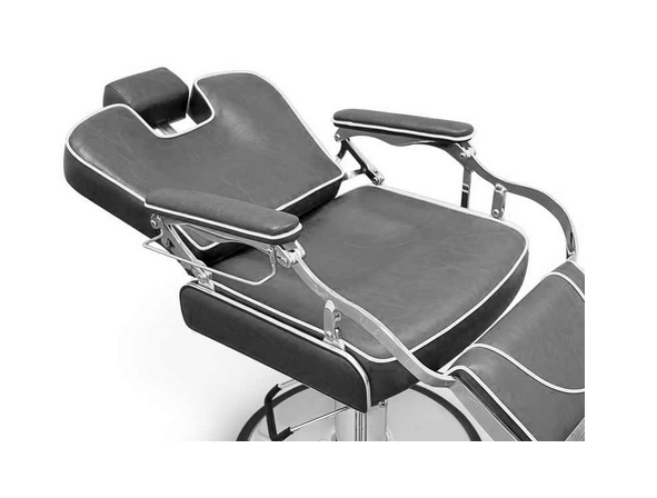 Grey Indiana Barber Chair 5