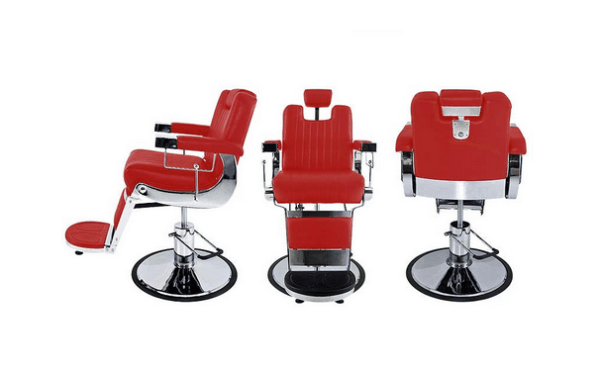 Tennessee Deep-Red Barber Chair 4