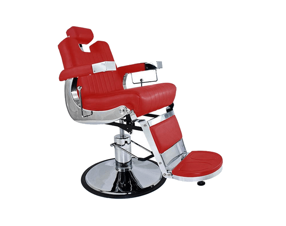 Tennessee Deep-Red Barber Chair 5