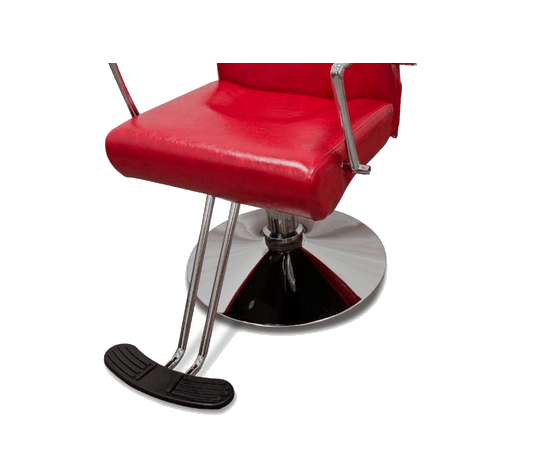 Hairdressers Chair Vicenza Red 3