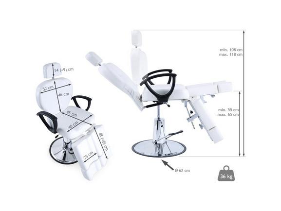 Aesthetics Swivel Hydraulic Armchair With Legs 3