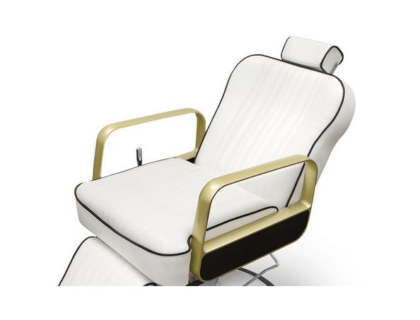 Tucson Barber Chair White 4