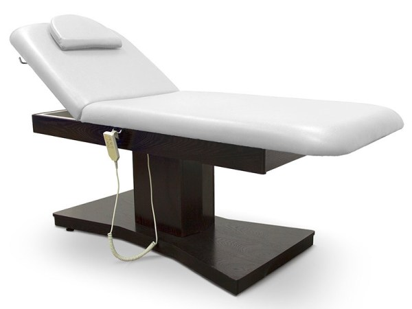 Electric Treatment Table with 2 Motors Headrest and Face Hole 1