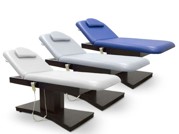 Electric Treatment Table with 2 Motors Headrest and Face Hole 2