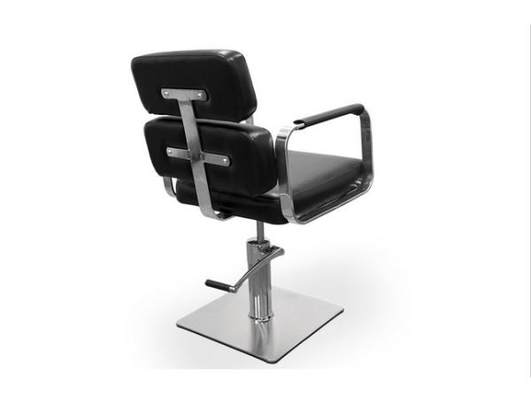 Black Ferrara Hairdresser Chair 3