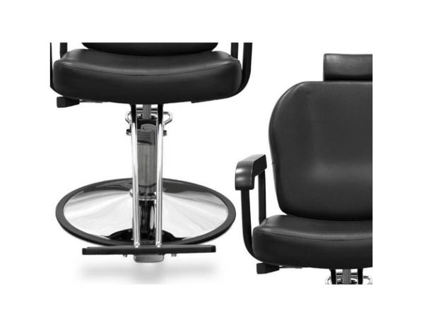 Black Sorrento Hairdresser Chair 4
