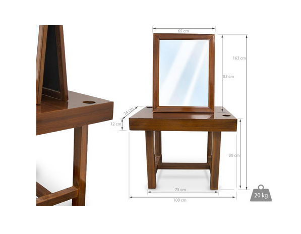 Retro Dressing Table For Barbershop 2