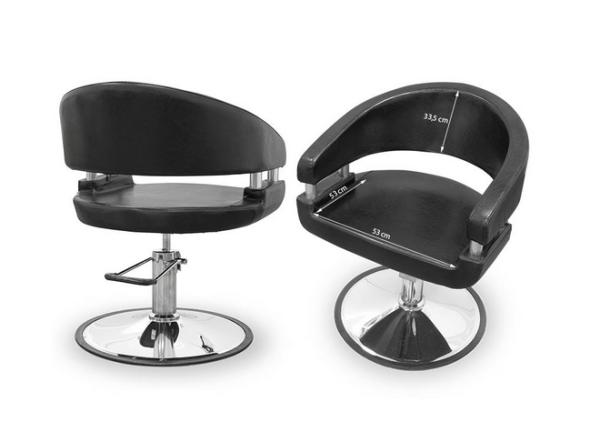 Amalfi Black Styling Chair 3
