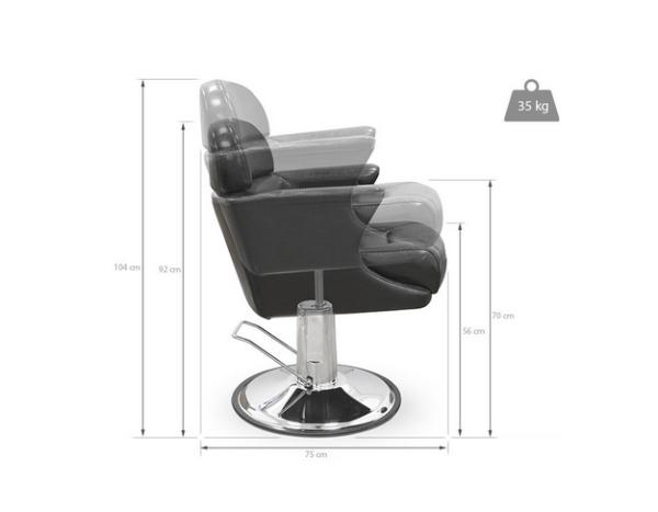 Styling Chair Novara Black 3