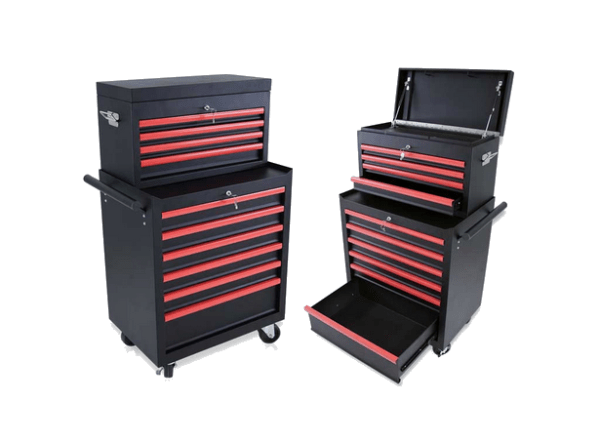 Barber Hair Salons And Tattoo Shops Trolley With 6 Drawers 4