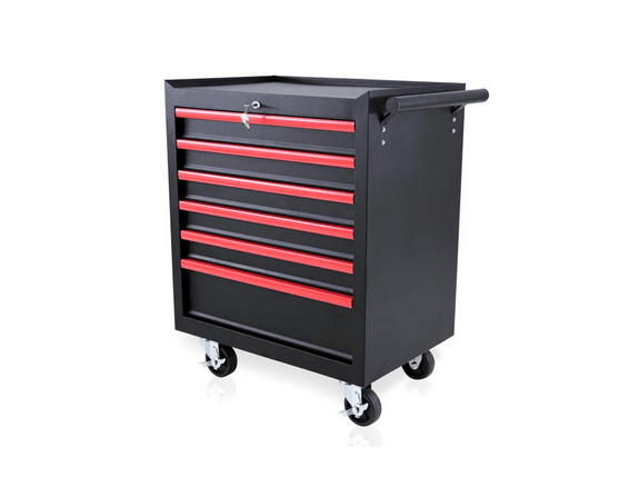 Barber Hair Salons And Tattoo Shops Trolley With 6 Drawers 1