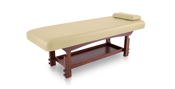 Fixed SPA Bed With Wooden Base 7