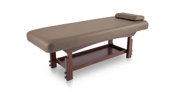 Fixed SPA Bed With Wooden Base 11