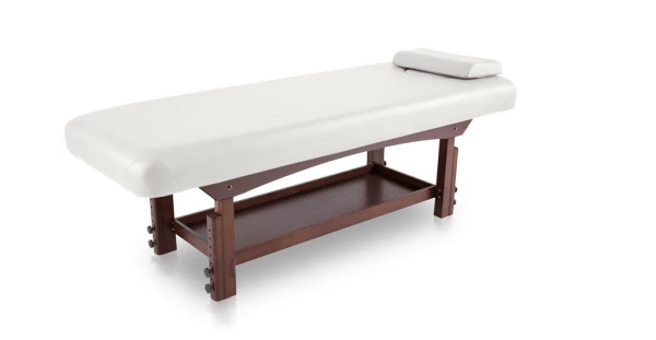 Fixed SPA Bed With Wooden Base 10