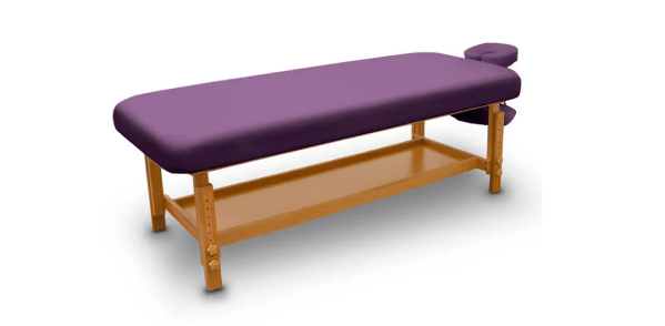 Fixed Wooden Massage Table for SPA 9
