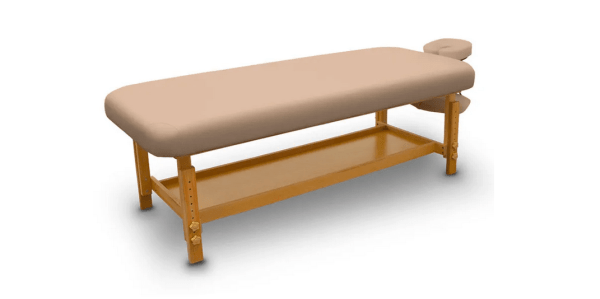 Fixed Wooden Massage Table for SPA 7