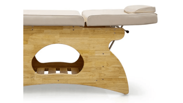 Wooden SPA Massage Table Fixed With Shelf 7