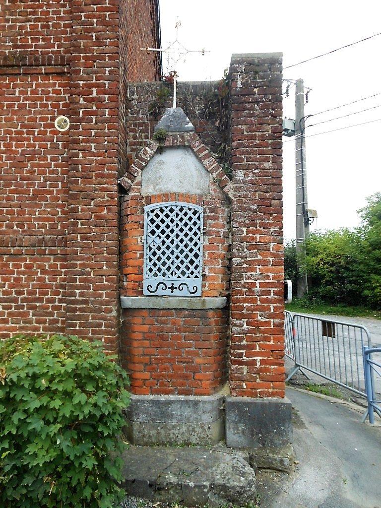 Oratoire Rue d'Arouzies X Rue de la chapelle Delcroix