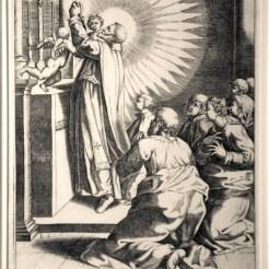 St. Philip celebrates mass.