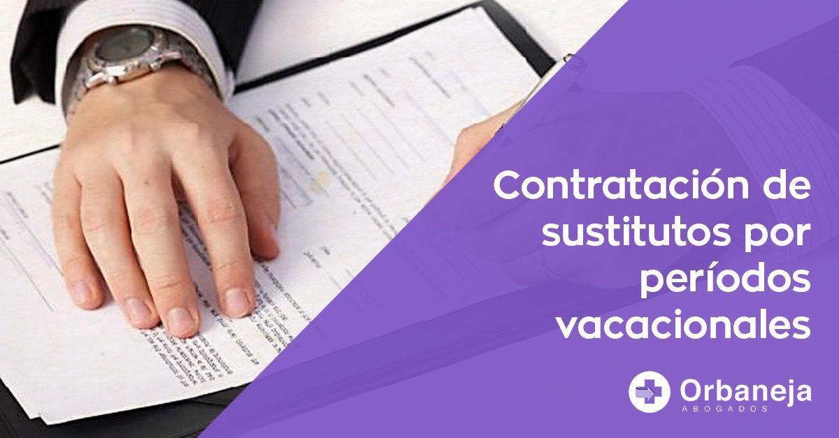 Contrato temporal en períodos vacacionales