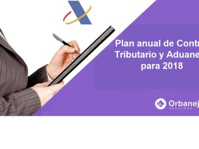 Plan anual de control tributario y aduanero