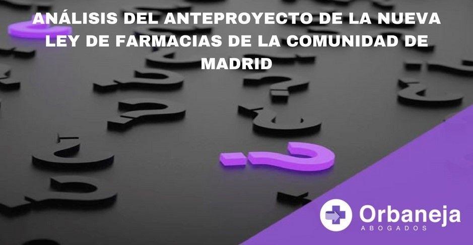 Nueva Ley de Farmacias de Madrid