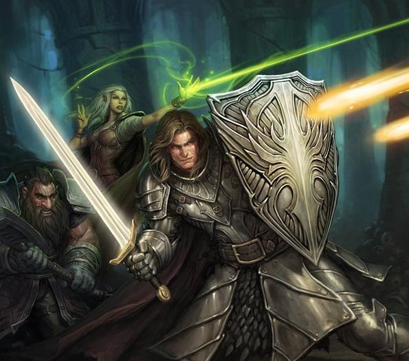 averth-reune-herois Estratagema do Obscuro: as Armas de Lacunian