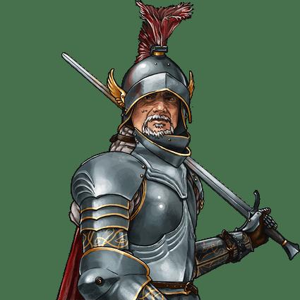 crivon-Barao-Sonnen-Falcão-Branco Heróis de Crivon Toran: Richard