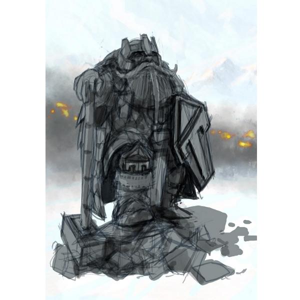 Colosso-de-Briganthor Aventura CaLuCe: Um Merlin desafiado - a Taverna do Anão de Pedra