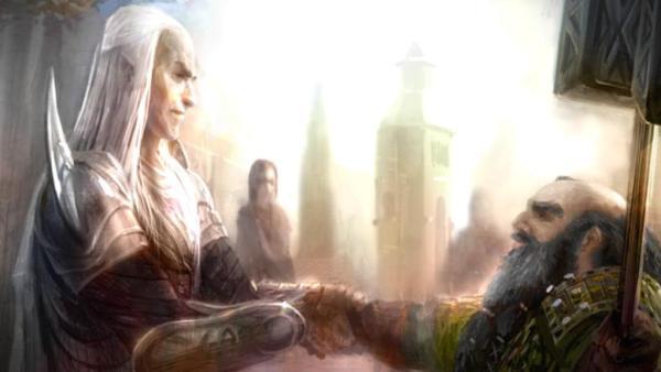 Elf_Glorfindel_and_Dwarf_Gloin-600x338 Povos de Crivon: Anões