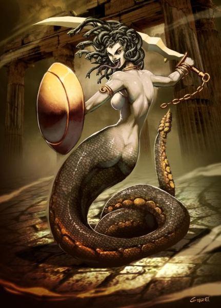 MedusabyGenzo-431x600 Estratagema do Obscuro: a gata mística e o guerreiro