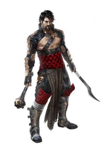 crivon-zandor-atual-lider-dos-guerreiros-do-caos-424x600 Guildas de Crivon: Os Guerreiros do Caos
