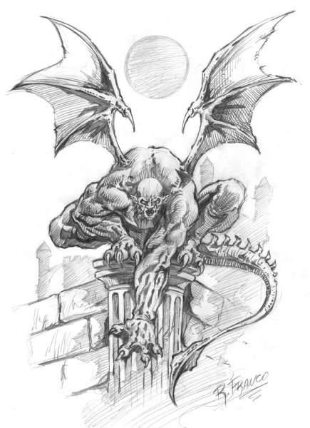Gargula_by_ricardoafranco-435x600 O Resgate do Reino dos Cavaleiros Sagrados, parte final