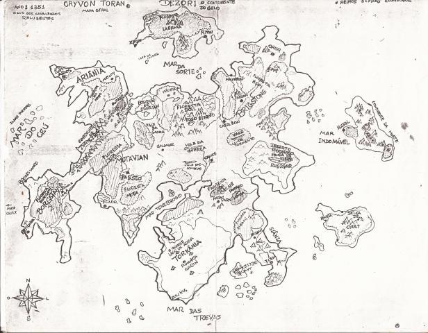 mapa-de-crivon-toran Mapas de Crivon: Reinos e Rotas
