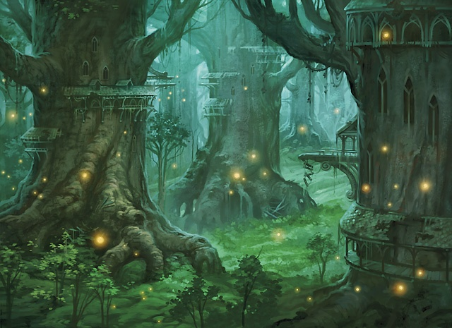 Elortizir, a Cidade das Árvores Ornadas.