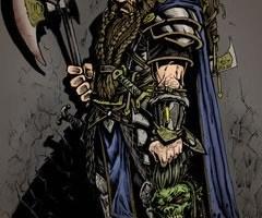 Thorjan Rhunaheim, anão da colina guerreiro.
