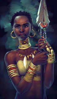 Forgotten_Zambiana-Dhahan Heróis de Forgotten Realms: Mogno, a bruxa tatuada