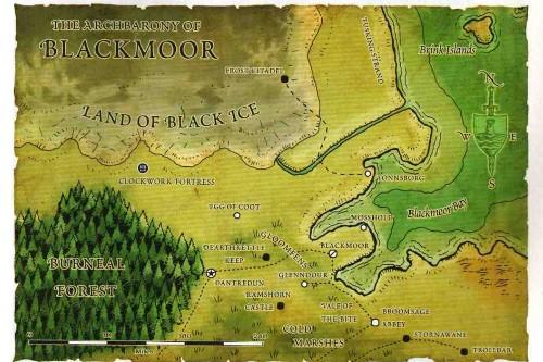 Greyhawk_Blackmoor Pântano Negro