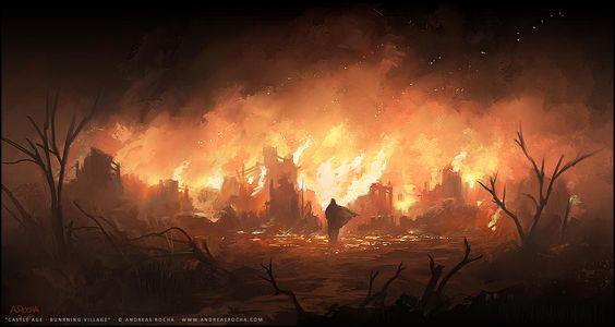 Greyhawk_Chamas-da-Salvação Fogo em Hommlet | Parte IV - Salvação