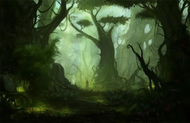 Greyhawk_Floresta Um conto sobre Celadon
