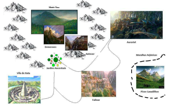 Greyhawk_Mapa-de-Demesnes Demesnes: O Reino dos Elfos de Celadon