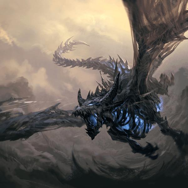 crivon-hidfeld-dragao-lich_by_samurai_ninja-600x600 Aventura CaLuCe: Um Merlin desafiado - uma dura escolha