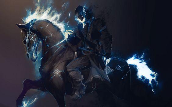 crivon-montaria-fantasmagorica-espectral A Torre do Cavaleiro Vampiro, segunda parte