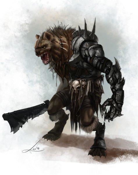 limbjack_gnoll_by_tanathiel-d84br68-474x600 Mito da Fundação do Reino de Caerleon