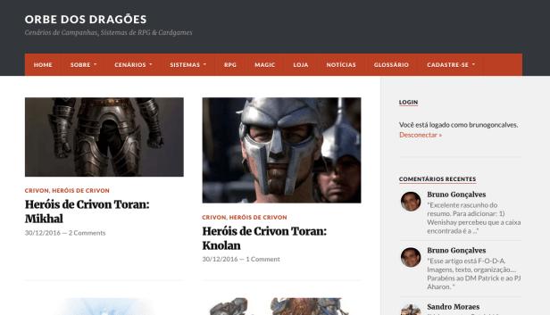 Orbe-novo-wordpress Saldo de 2016: Novo blog, mais conteúdo e muito RPG!