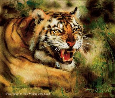Magic_Terese.Tigre-Caçador Mestres Ilustradores (Parte III)
