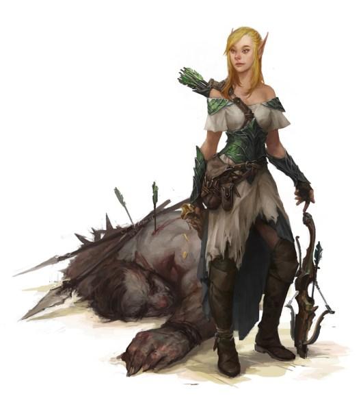 Elf_Rogue-531x600 Povos de Crivon: Elfos