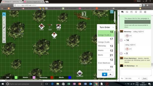 sessao-18-06-17 Aventura CaLuCe: a herança de Mantruss - combates